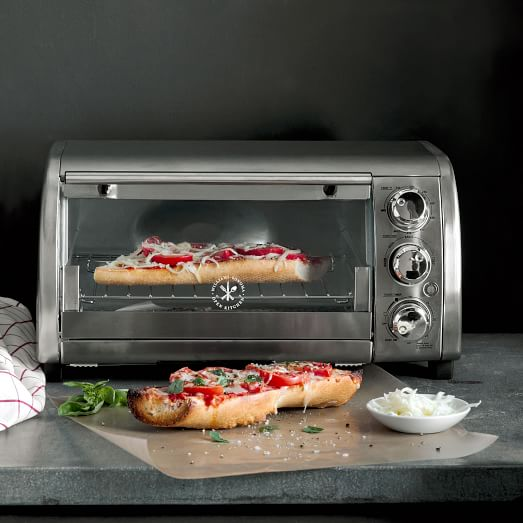 Open Oven In Kitchen: Williams Sonoma Open Kitchen Stainless Steel Toaster Oven