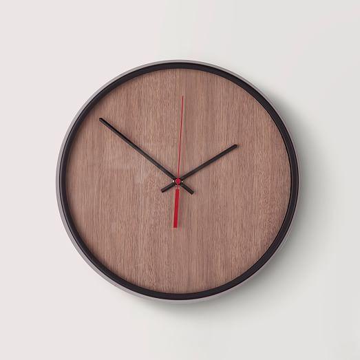 umbra madera wall clock west elm