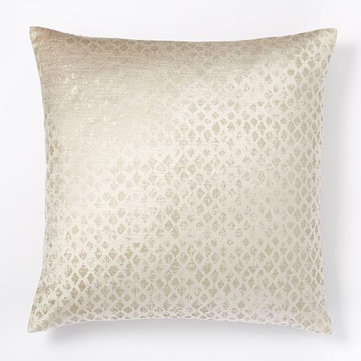 Luster Velvet Diamond Pillow Cover, 20
