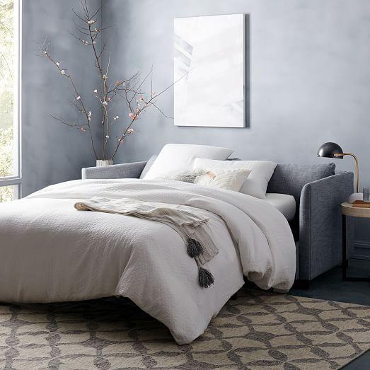 shelter sleeper sofa west elm. Black Bedroom Furniture Sets. Home Design Ideas