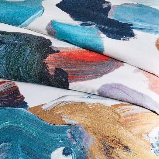 Tencel 174 Artist S Palette Duvet Cover Shams West Elm