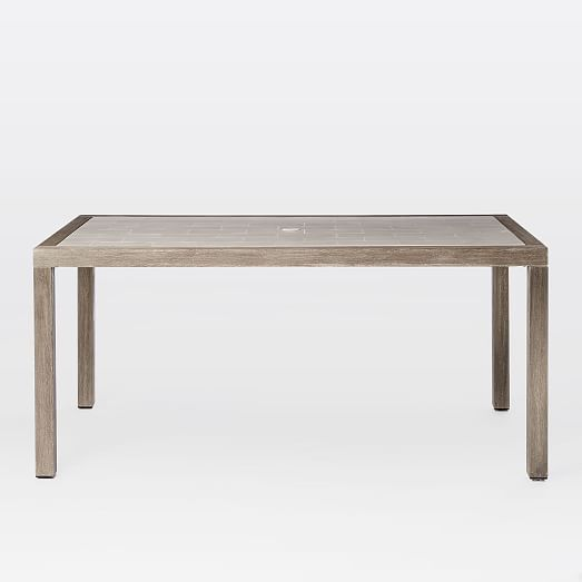 mosaic tiled dining table west elm