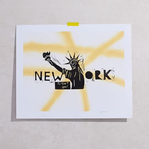 Jikits Block Print, New York