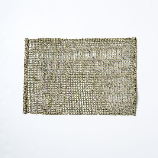 Fishnet Woven Placemat Set west elm : fishnet woven placemat set c from www.westelm.com size 523 x 523 jpeg 42kB