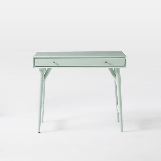 Mid Century Mini Desk Oregano West Elm