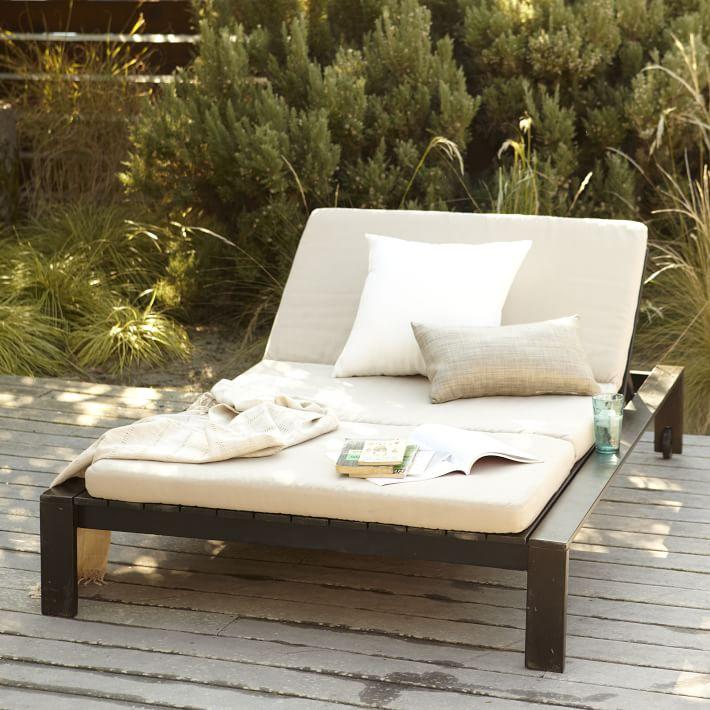 Double Patio Chaise Lounge Icamblog