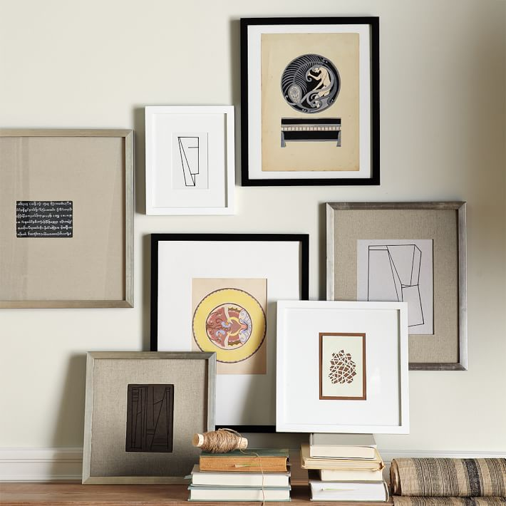 gallery frames white west elm