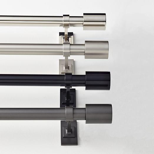 Oversized Adjustable Metal Rod | west elm