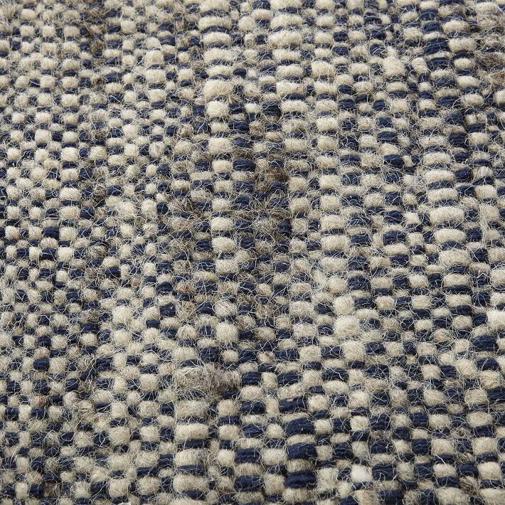 Magenta Hand Dyed Rug Yarn Plain Weave Sweater Wool