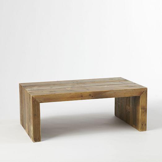 West elm reclaimed wood table