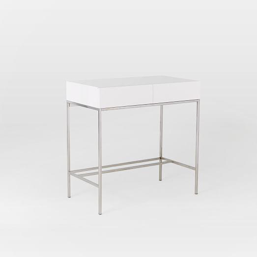 Lacquer Storage Mini Desk West Elm