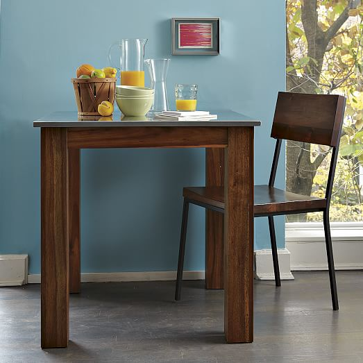 West Elm Rustic Kitchen Table: Rustic Dining Chair