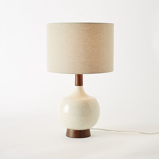 modernist table lamp west elm. Black Bedroom Furniture Sets. Home Design Ideas