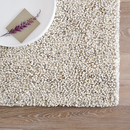 Bello Shag Wool Rug West Elm