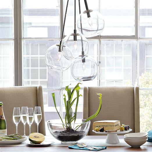 West Elm Lighting Sale: Cluster Glass Pendant