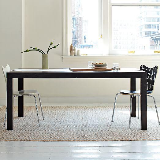 Parsons Expandable Dining Table west elm : parsons expandable dining table c from www.westelm.com size 523 x 523 jpeg 43kB