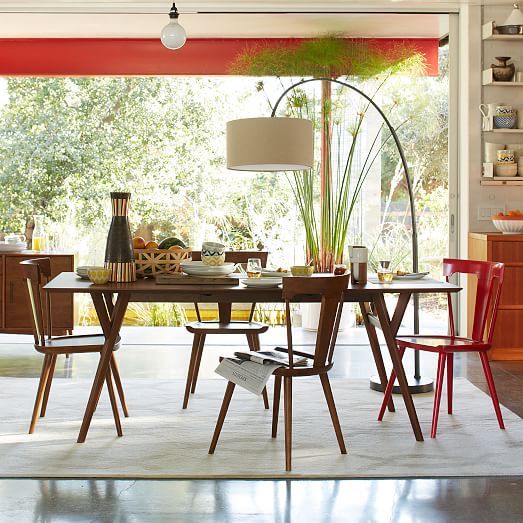Mid Century Modern Dining: Mid-Century Expandable Dining Table