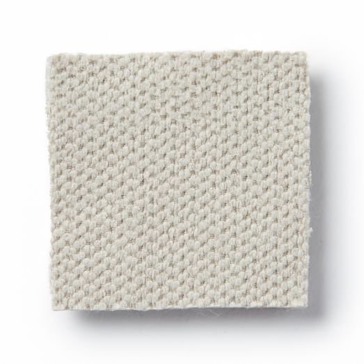 Upholstery Fabric by the Yard, Pindot Faux Suede, Bone