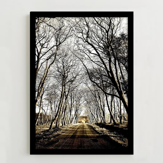 WE Print Collection, Road to Laurieston