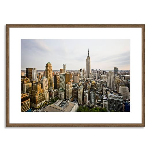 Offset for West Elm Print, Empire State Building by Mark Weinberg, Mat