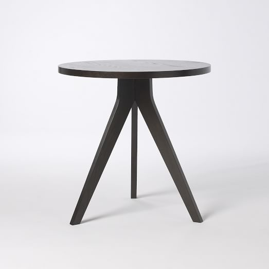 Tripod Table, Chocolate-Stained Veneer
