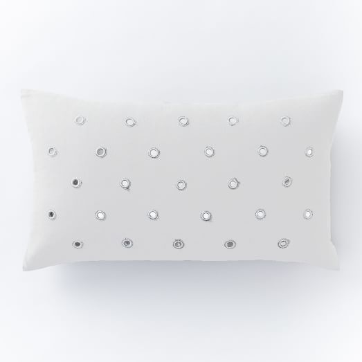 Mirrored Dot Pillow Cover, 12