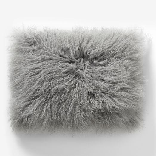 Mongolian Lamb Pillow Cover, 12