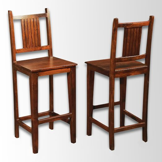 Indian Rosewood Bar Stool