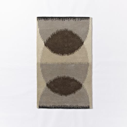 Eclipse Wool Rug, 3'x5'