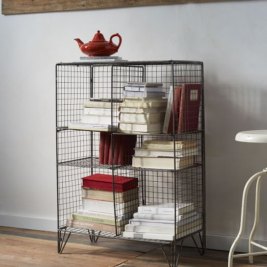 Small Wire Bookcase