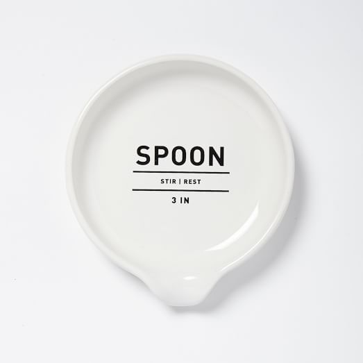 Utiilty Kitchen Collection, Spoon Rest