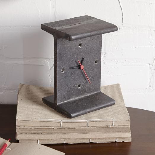 I-Beam Clock
