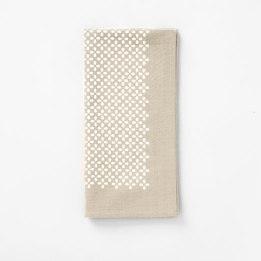 Metallic Clover Napkin, Ms/St Bse Set of 4