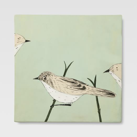 Gemma Orkin Tile, 3 Little Birds, Medium