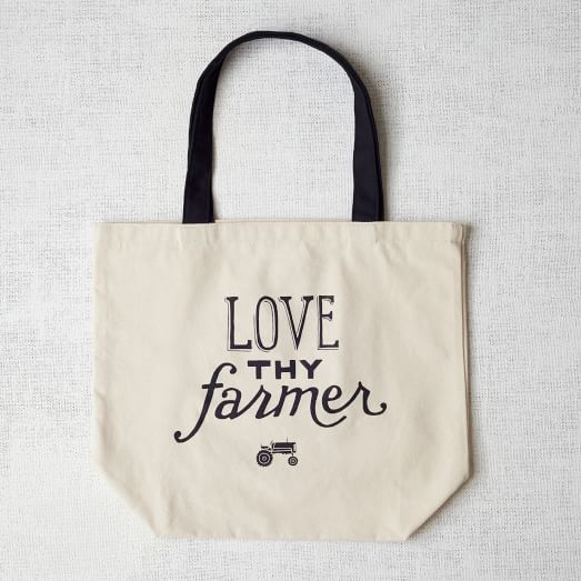 Market Tote Bag, Love Thy Farmer
