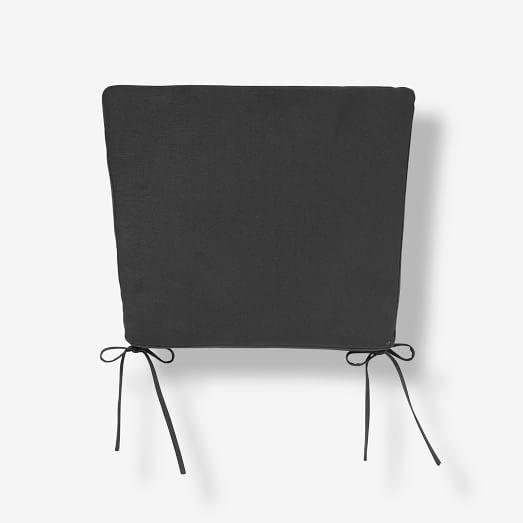Spindle Back Chair Cushion, Coal