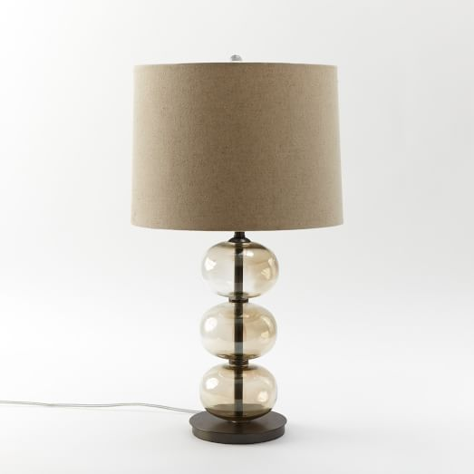 Abacus Table Lamp, Luster, CFL