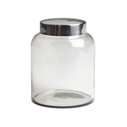 Glass Apothecary Jar, Large