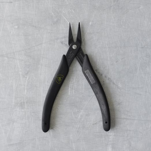 Needlenose Pliers, Black Handle