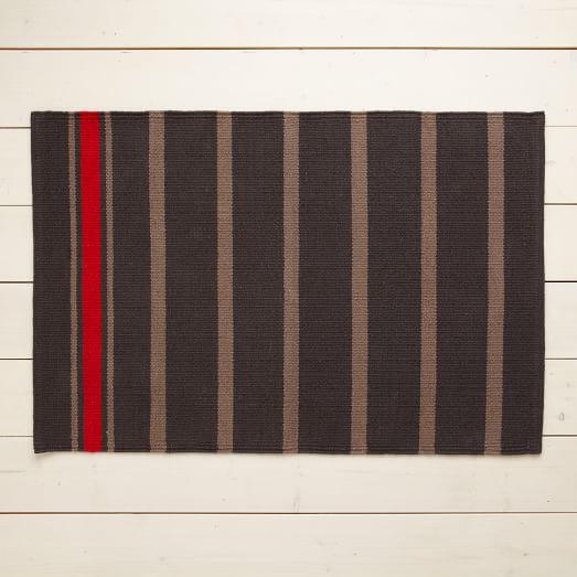 Floor Mat, Pop Stripe