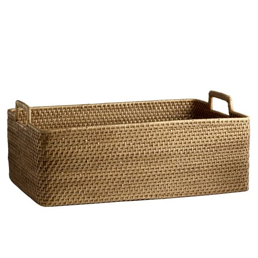 Modern Weave, Harvest Basket, Natural