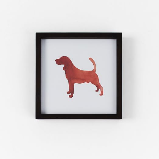 Dog Print Wall Art, Bassett Hound, 10
