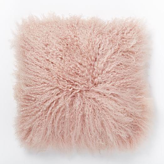 Mongolian Lamb Pillow Cover, 16
