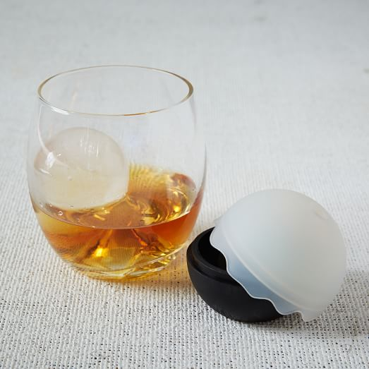 Rock Glass And Ice Ball