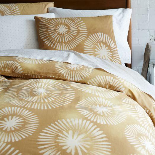 Honey Blossom Bedding Set, Extra Long Twin, Maize