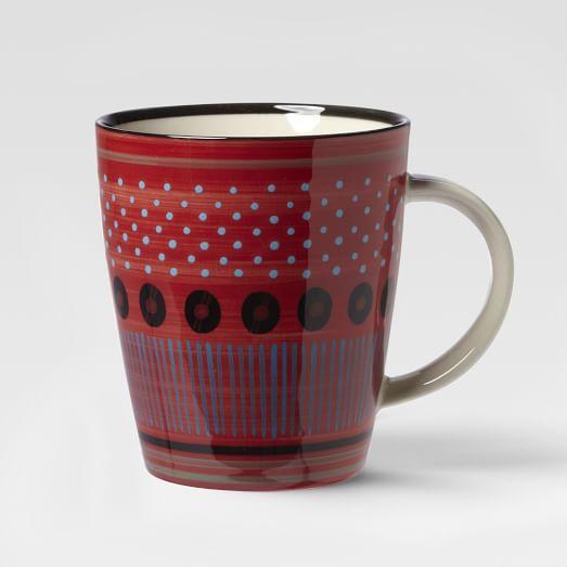 Potter's Workshop Mug, Red Seed