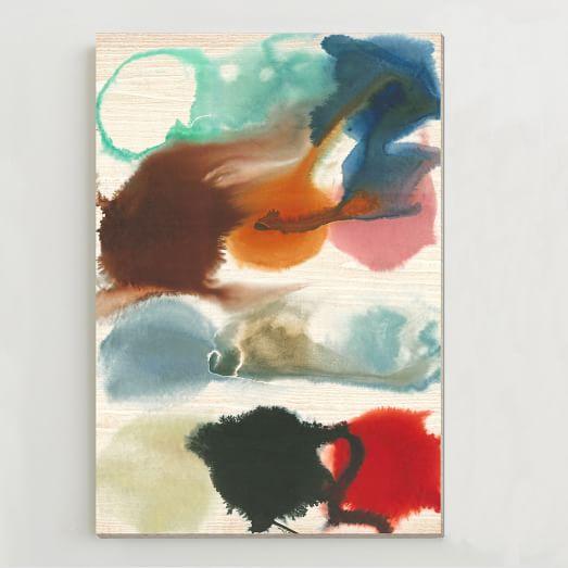 Birch Print, Sea Glass Shades