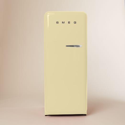 SMEG, Refrigerator, Cream, Left Hinge