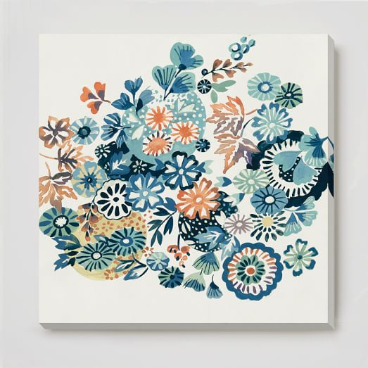 Canvas Print, Summer Garden