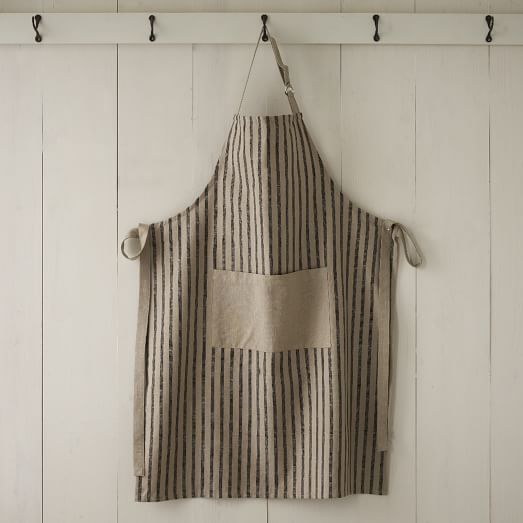 Kitchen Apron, Chef's Stripe, Iron